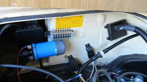 acirc micro squirt microsquirt powered vanagon ramblings page  here i am just resting the components battery has been disconnected so i can see how much space i have to work i don t want to be close to the