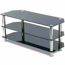 black glass tv stand 8 black glass stand chrome legs 3 black glass tv stand argos