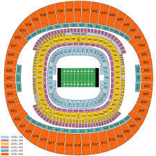 Superdome Seating Chart With Row Numbers Mercedes Benz Superdome Seating Chart Views Reviews New