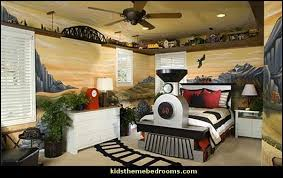 Boys Train Bedroom Ideas