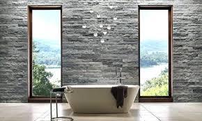 interior wall stone rock panels
