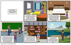Erik Eriksons Theory Of Social Development Storyboard
