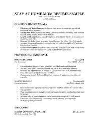 Resume For Stay At Home Mom Beautiful Dishwasher Resume Samples ...
