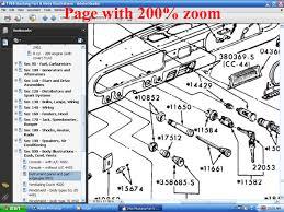 fordmanuals com 1966 mustang part and body illustrations (ebook) 1966 Mustang Wiring Diagram screenshot of page at 200% zoom 1966 mustang wiring diagram pdf