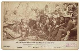 「General Crook and Geronimo」の画像検索結果