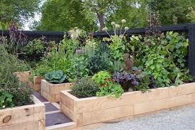 naturalistic edible garden in nz this contained naturalistic vegetable