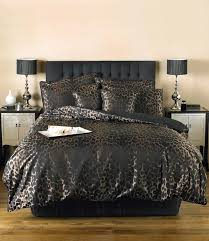 for once nicely done animal print bedding but i would forego all the shams it can still be too much sierra luxury black chocolate animal print duvet set