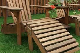 Wood outdoor patio furniture Wooden Table Chair Wooden Lawn Chair Wayfair How To Paint And Stain Patio Furniture Diy True Value Projects