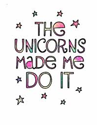 Unicorns Quotes Stars Stickers Colorful Cute Unicorn Quotes