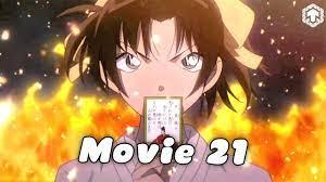 Conan Movie 21: Bản Tình Ca Màu Đỏ Thẫm   Conan