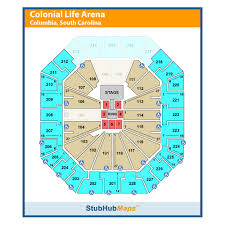 Colonial Life Arena Events And Concerts In Columbia