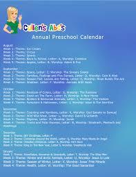 Preschool Calendars Online Preschool And Childrens Videos