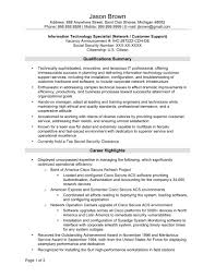Information Security Resume Cover Letter Sample