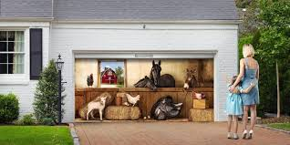 garage door art decals r c cabinets closets sonoma custom intended for garage door decals decorations 9