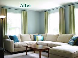 Painting Living Rooms Heart Maine Home A New Blue Living Room Before And After