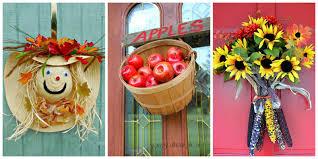18 Fall Door Decorations - Ideas for Decorating Your Front Door ...
