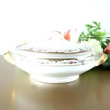 serving bowl with lid antique dinnerware house of bowls lids ceramic sets casserole crockery dining w hand made blue ceramic serving bowl with lid