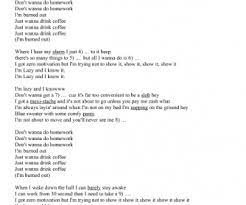 I'd love you to want me lyrics by: Song Worksheet I Am Lazy And I Know It Parody