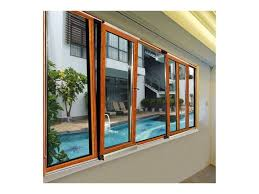 aluminium front casement windows with fixed glass
