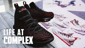 Jason Petrie Shoe Designer Nike Designer Breaks Down The Lebron 16s Lifeatcomplex
