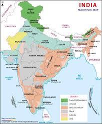 Soil Percentage Chart Soil Map Of India