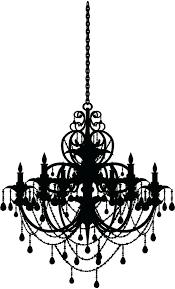 chandelier wall art sticker target chanel decal