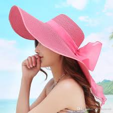 2017 Straw Hats For Women\u0027S Female Summer Ladies Wide Brim Beach Sexy Chapeau Large Floppy Sun Caps New Brand Spring Praia Baby Hat
