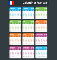 French Days Of The Week Days Of The Week French Vector Images Over 100