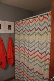 cool shower curtains for kids. Kids Shower Curtains Assorted Color Fabric Zig Zag Curtain Cool For