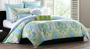 teal colored bedding sets brilliant contemporary echo bedroom with blue green bedding sets echo green green