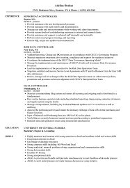Data Controller Resume Samples Velvet Jobs
