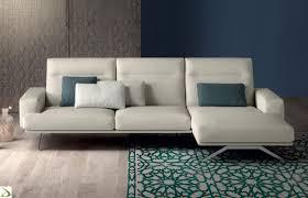 Divano penisola reclinabile tash arredo design online