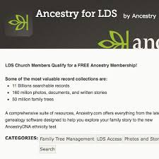 Making A Family Tree For Free Making The Most Of Your Free Ancestry Church Account