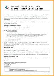 Resume Mental Health Worker Example Mmventures Co