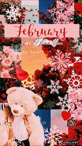 February Wallpaper Collage VSCO edit ...