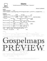 God Of This City Chord Chart Gospelmaps Giants Donald Lawrence Tri City Singers