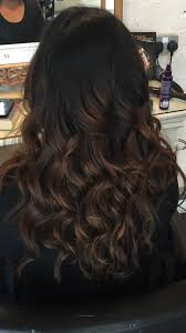 Balayage Black Hair Brown Caramel Inspired