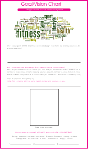 Goal Chart Template Goal Vision Chart Template Download Printable Pdf