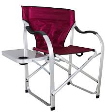 this is a regular height camping chair with the seat about 18 inches off of the ground