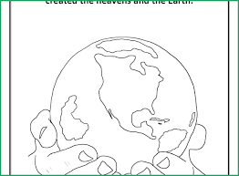 Days Of Creation Coloring Pages Koshigayainfo