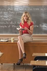 Blonde teacher students classic