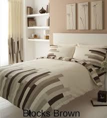 homemaker bedding block printed king size duvet cover bed set grey black and cream