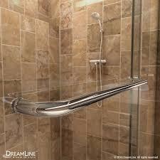 charisma bypass sliding shower door