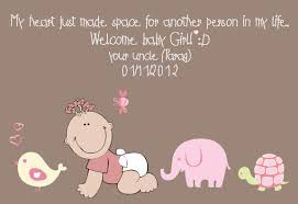 Welcoming Baby Girl I Am Uncle Again Welcome Baby