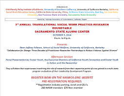 3rd translational social work practice research roundtable