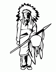 Small Picture Indian Warrior Coloring PagesWarriorPrintable Coloring Pages