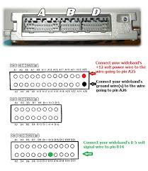 obd1 ecu wideband installation wiring instructions