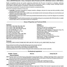 Security Engineer Resume Sample Best Network Security Engineer Resume Network Security Engineer For 15