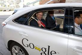 texas department of transportation executive director phil wilson gets a ride in a google self