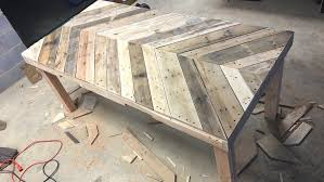 Diy pallet outdoor dinning table Kitchen How To Build An Outdoor Dining Table From Pallet Wood Crafted Workshop How To Build An Outdoor Dining Table From Pallet Wood Crafted Workshop
